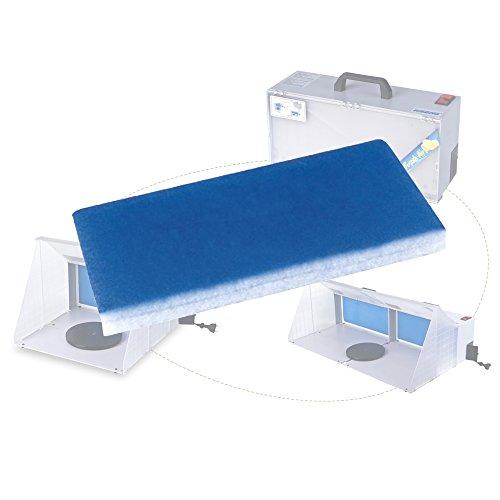 YAOBLUESEA Airbrush Absauganlage Zubehör Ersatzfilter für Farbnebel Absauganlage W420