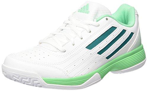adidas Performance Damen Sonic Attack Tennisschuhe, Weiß (Ftwr White/Eqt Green S16/Green Glow S16), 40 EU