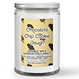Chocolate Chip Cookie Dough Candle (32oz) Ice Cream Scented Soy