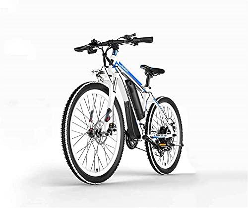 Bicicleta De Montaña Eléctrica para Adultos De 26 Pulgadas, Batería De Litio De 36V-48V Bicicleta Asistida Eléctrica De Aleación De Aluminio (Color: B, Tamaño: 48V)