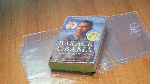 """198mm Slip-on Plastic Book Cover (Max Height 7.8"""" X Max Width 12.2"""")"""