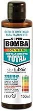 Óleo Umectação Studio Hair Super Bomba Fortalecimento Total 100ml, Muriel