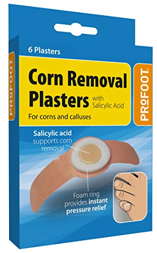 PROFOOT Corn Removal Plaster - 2 packs of 6