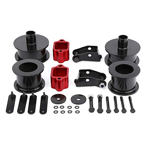 """KSP 3""""Front and 3""""Rear Full Suspension Lift Kits with Shock Extenders fit for 2007 - 2018 Wrangler JK 2WD 4WD, Such as Editions Rubicon/Unlimited/Sahara/Sports and More(Black)"""