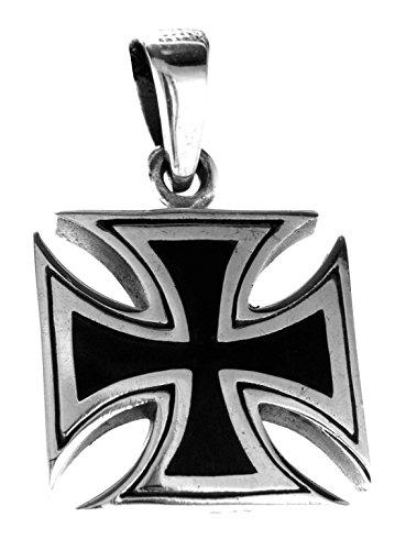 Kiss of Leather EK Kreuz Anhänger aus 925 Sterling Silber Nr. 333
