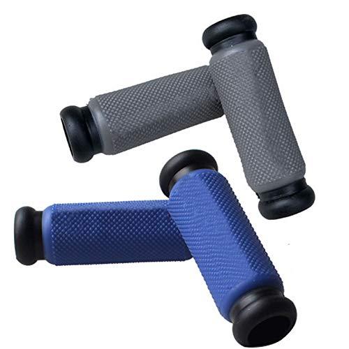 4 puños de protección para bicicleta de montaña y carretera, agarre de goma antideslizante