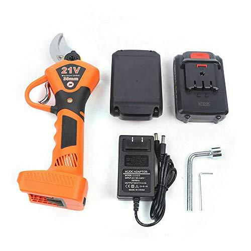 Find Discount DNYSYSJ Professional Cordless Electric Pruning Shears 30mm (1.2 Inch) Cutting Diameter...