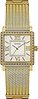 Guess Dress Watch for Women - Analog / Gold Metal - w0826l2