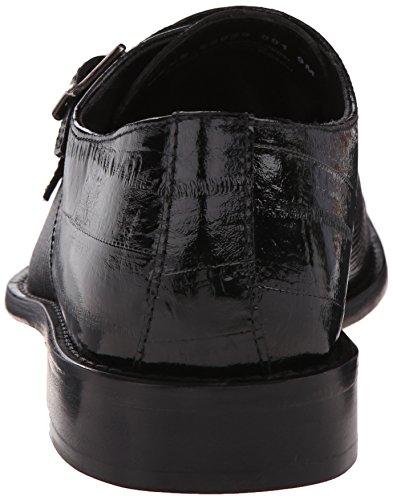 Stacy Adams Men's Gardello Monk Strap, Black, 9 M US