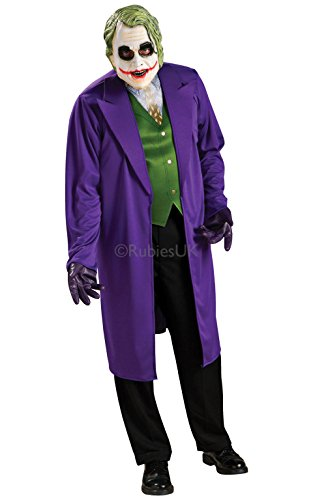Homme adulte Joker Batman Dark Knight Marvel Superhero déguisement 888631
