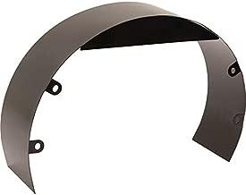 Universal Black Steel 3 Inch Fan Shroud w/Mounting Bolt Kit