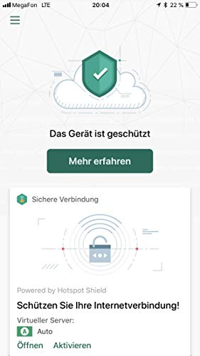 Kaspersky Security Cloud Personal Edition 5 Geräte (Code in a Box). Für Windows 7/8/10/MAC/Android