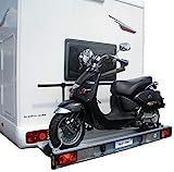 SMV-Metall GmbH Portabicicletas trasero para caravana Fiat Ducato X250/X290 (a partir de 07/2006 hasta hoy) | Carga útil 150 kg | Incluye juego eléctrico específico