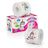 Unicorn toilet paper, Pink Toilet Paper for Toddler Potty Training, Novelty Toilet Paper , Colored Toilet Paper, Unicorn Gag Gift, Fancy Toilet Paper, Unicorn Bathroom Decoration for Girls