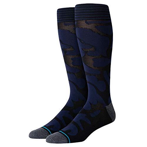 Stance Isle Tropics Dress Socks, Black- Large
