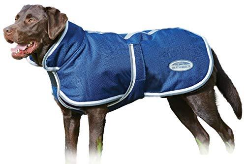 Weatherbeeta Parka 1200D Deluxe Dog Coat (16', Navy/Grey/White)