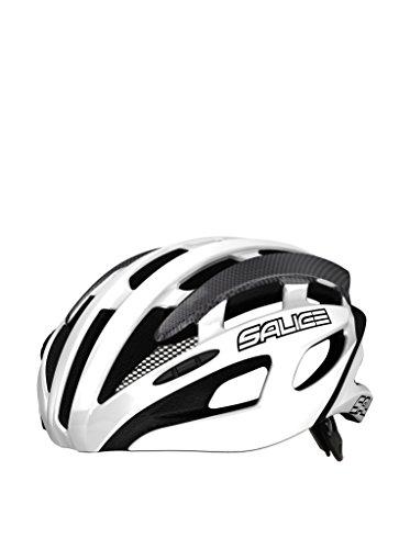 Salice Casco de Ciclismo Spin Blanco/Gris