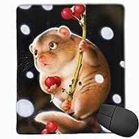 マウスパッド 可愛いモルモット ゲーミング オフィス最適 高級感 おしゃれ 防水 耐久性が良い 滑り止めゴム底 ゲーミングなど適用 マウスの精密度を上がる( 22*18*0.3cm )