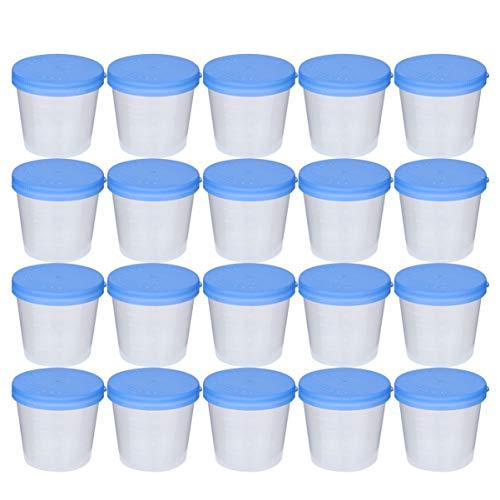 EXCEART 50 Stks Urine Specimen Cups Gemakkelijk Te Verzamelen Urine Specimen Voor Zwangerschapstest en Ovulatie Test…