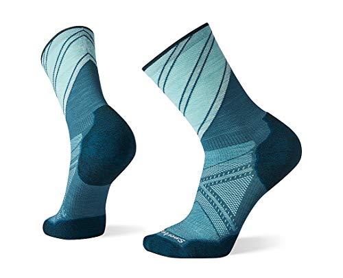 Smartwool Men's PhD Run Pattern Crew Light Elite Merino Wool Socks