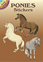 Ponies Stickers (Dover Little Activity Books Stickers)