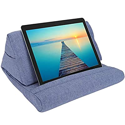 ZGWJ Pillow Stand Tablet Pillow Holder Soft Pil...