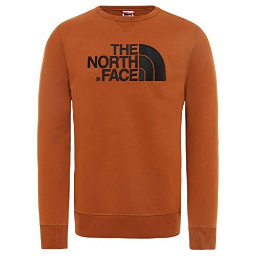 The North Face M Drew Peak Crew Caramel Cafe Sweatshirt, Hombre, L