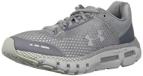 Under Armour Women's HOVR Infinite Running Shoe, Mod Gray (108)/White, 8.5 M US