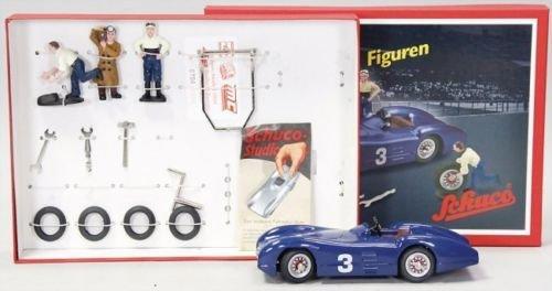 Schuco Studio III Bausatz mit Figuren Sammlermodell Mercedes 01641 Limitiert!!