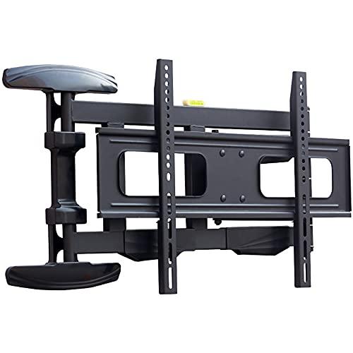 YDSZJ Soporte de pared para TV para Pantallas LCD Curvadas Y de Plasma LED, Hasta 45 Kg, Max VESA 600X400 Mm Estable/Negro / 43 / 75in