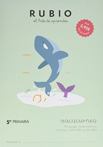 Cuaderno Rubio A4 Vacaciones 5 Primaria