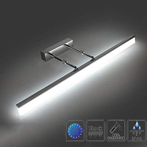 LEDMO Luces Espejo 3200K-6500k estilo Hollywood espejo tocador con luz 10 Bombillas...