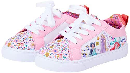 Disney Girls' Shoes - Princess Sneakers (Toddler/Little Kid/Big Kid), Size 10 Toddler, Princess