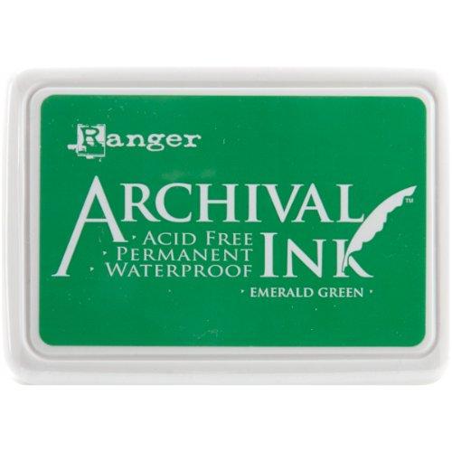 Archival Inkpad #0-Emerald Verde