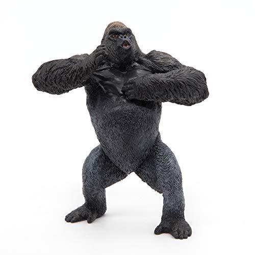 Papo 50243 - Statuetta di gorilla di montagna, multicolore