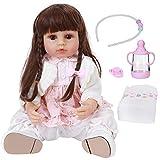 Jingyi Muñeca bebé, muñeca de simulación de Silicona de Cuerpo Completo, muñeca Realista, Juguete pa...