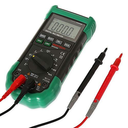 MTSBW Auto Range LCD Digital Multimeter Vollschutz AC/DC Voltmeter Ammeter Ohm Kapazität NCV Elektro-Tester