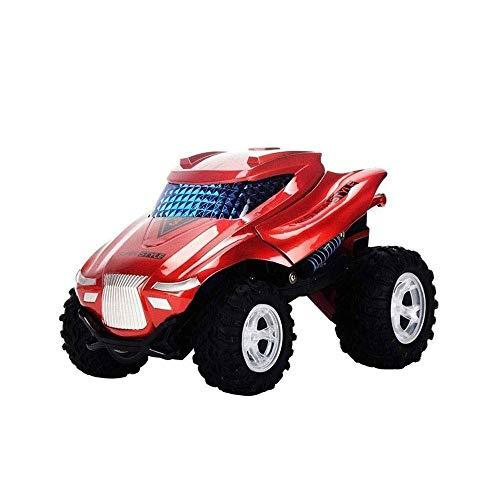 Modelo de coche grande de carga inalámbrica de control remoto de coches de juguete Stunt balanceo, Camión de descarga fuera de la carretera gota resistente al modelo de coche de juguete, coche teledir