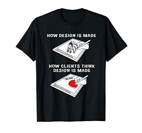 Freelance Graphic Design Funny Graphic Designer T-Shirt
