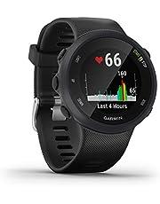 Garmin Forerunner 45/G Reloj Multisport, Adulto, Unisex, Negro, L