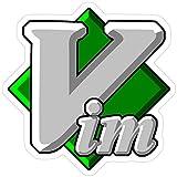 Vinyl Sticker for Cars, Trucks, Water Bottle, Fridge, Laptops Vim - Text Editor - Since 1991 Stickers (3 Pcs/Pack)