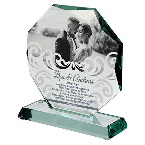 Doman Copa de cristal elegante, regalo de boda, regalo de boda, regalo personalizado de boda, regalo de boda, regalo de agradecimiento, regalo después de boda, regalos de boda para novios 01-107
