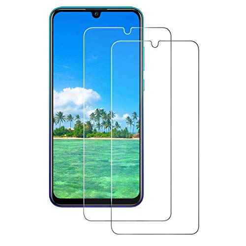 CHENXX [2 Pack Glass Screen Protector for Huawei P Smart 2019, Tempered Glass [9H Hardness] 2.5D [HD Clear] [Case Friendly] [Anti-Scratch] [Bubble Free]