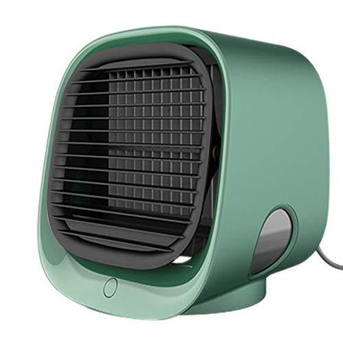 Gaoominy Home Ventilador de escritorio portátil de aire acondicionado de oficina pequeño aire acondicionado enfriador de aire