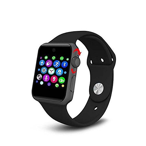 FMSBSC Lemfo LF07 Bluetooth Reloj Inteligente 2.5d ARC HD Protector de Apoyo Tarjeta SIM Wearable Dispositivos Smartwatch para iOS Android