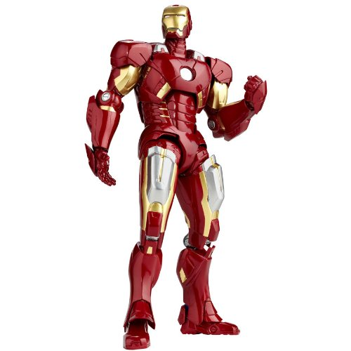 SCI-FI Revoltech Series No.042 - The Avengers [IRON MAN VII] (PVC Figure)