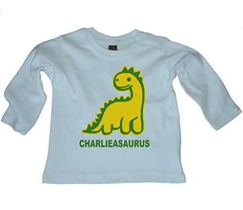 Ice-Tees - T-shirt - Col Ras Du Cou - Manches Courtes - Bébé (garçon) 0 à 24 mois - Bleu - 24 mois