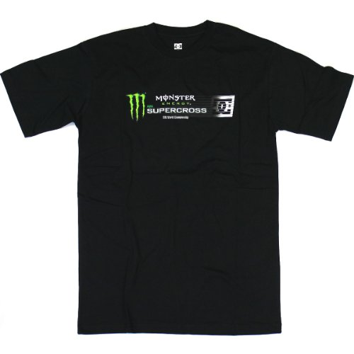 Tee Shirt DC Shoes Monster Supercross SX12 - Noir - L