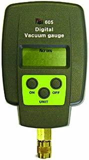 TPI 605 Single Input Digital Vacuum Gauge, 5 Digit LCD, +/-10 percent Accuracy, 1 micron Resolution, 12000 to 15 micron Range
