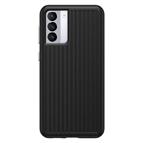OtterBox Max Grip Cooling and Antimicrobial Gaming Case for Galaxy S21+ 5G (ONLY - Does NOT FIT Non-Plus Size or Ultra) - Squid Ink (Black)